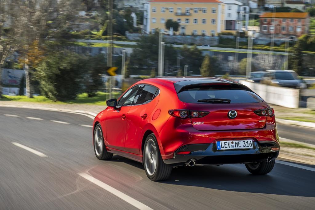 Wat is er opvallend aan de nieuwe Mazda3?