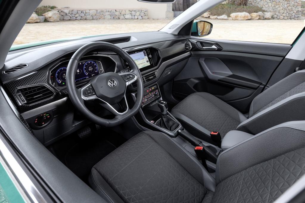 Wat is minder geslaagd aan de Volkswagen T-Cross?