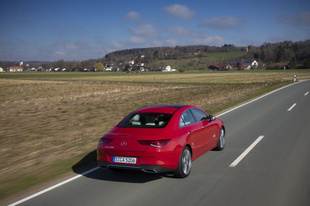 Wat is er zo opvallend aan de Mercedes CLA?
