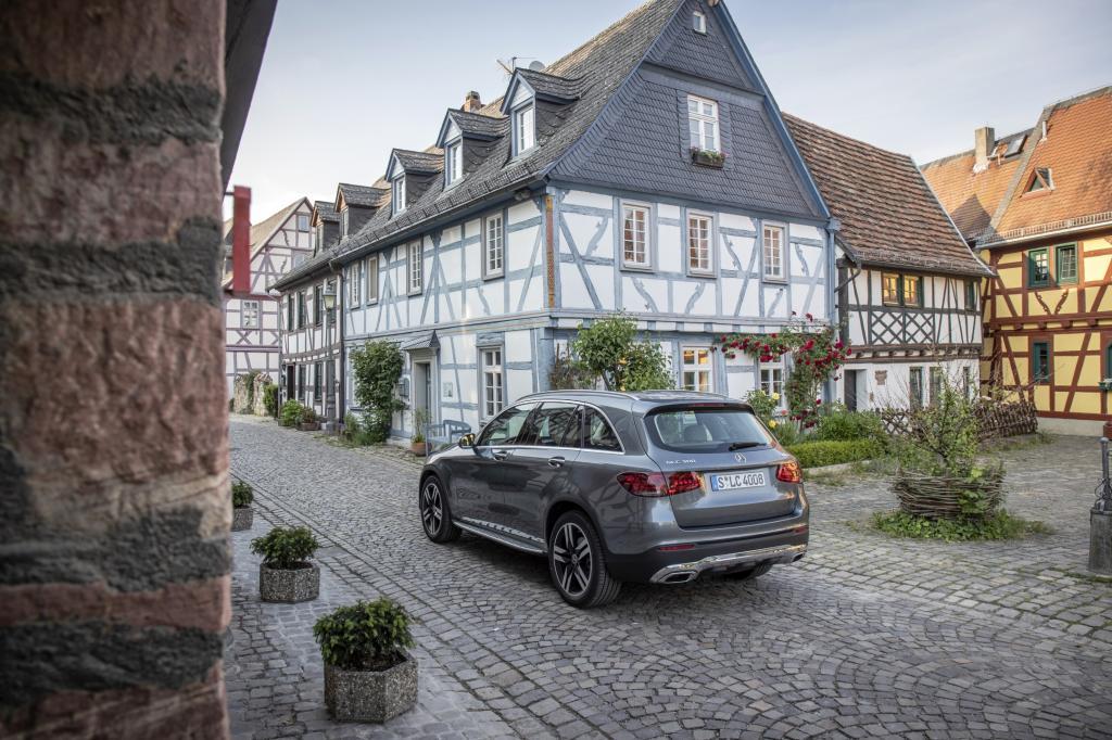 Wat is opvallend aan de Mercedes GLC/GLC Coupé?