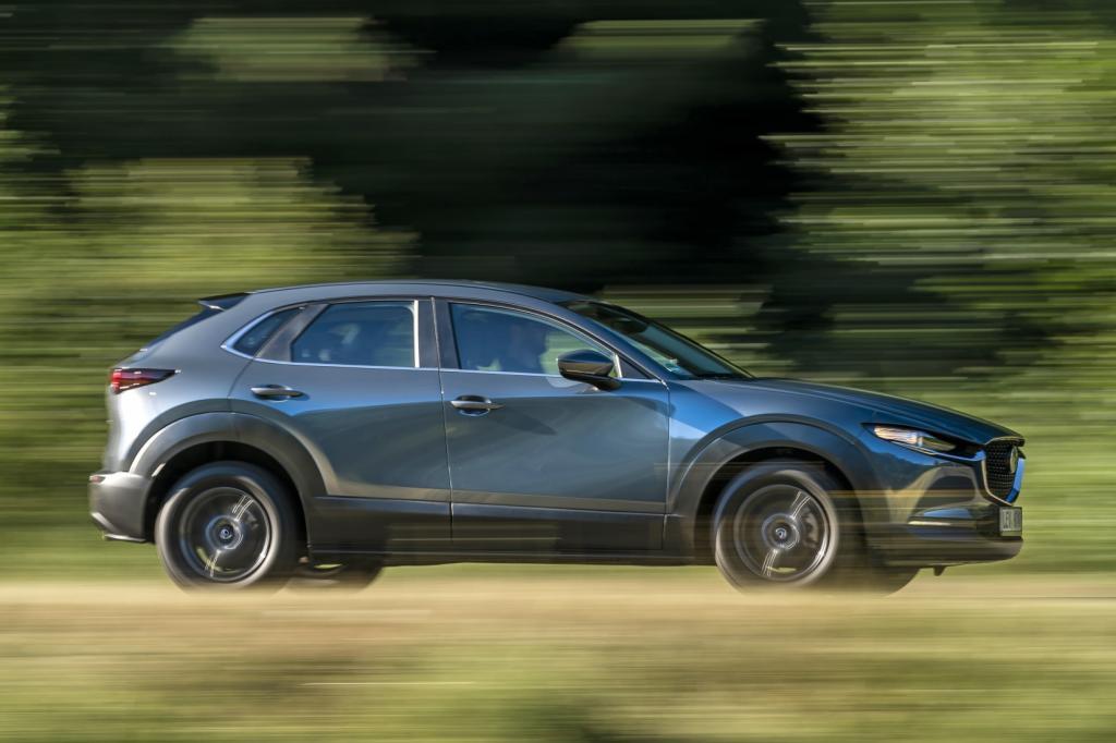 Wat is opvallend aan de Mazda CX-30?
