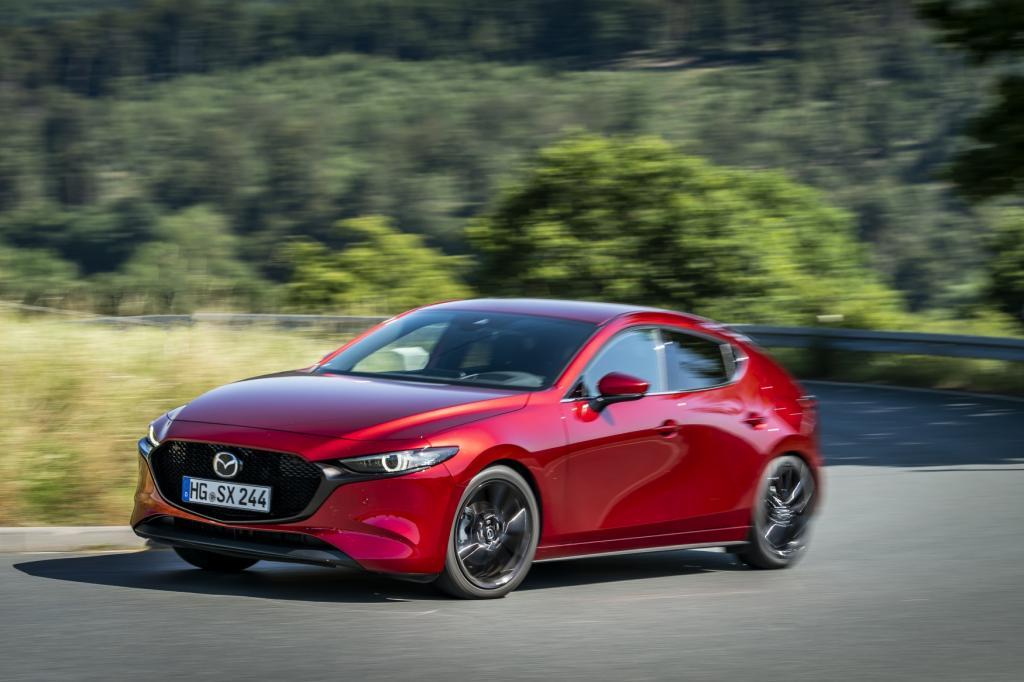 Wat is opvallend aan de Mazda3 Skyactiv-X?