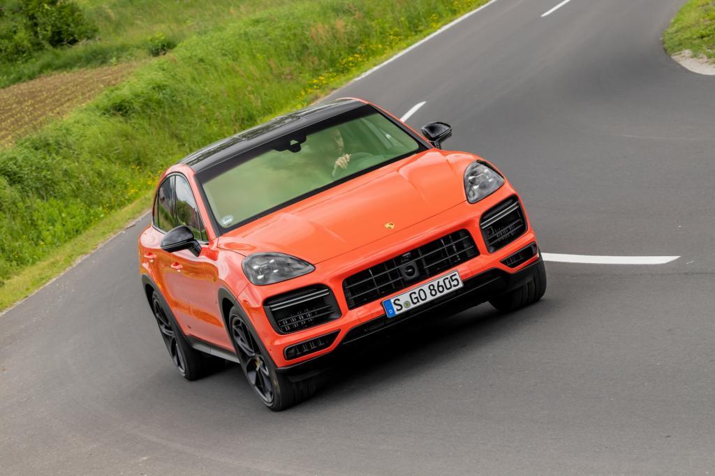 Wat is opvallend aan de Porsche Cayenne Turbo Coupé?