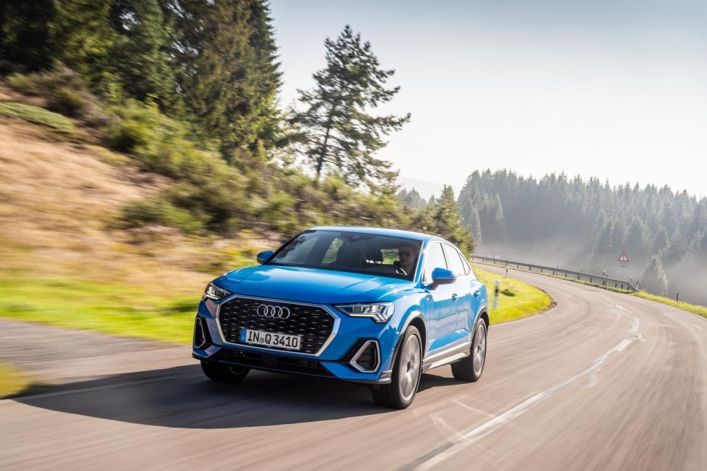 Wat is er opvallend aan de Audi Q3 Sportback?