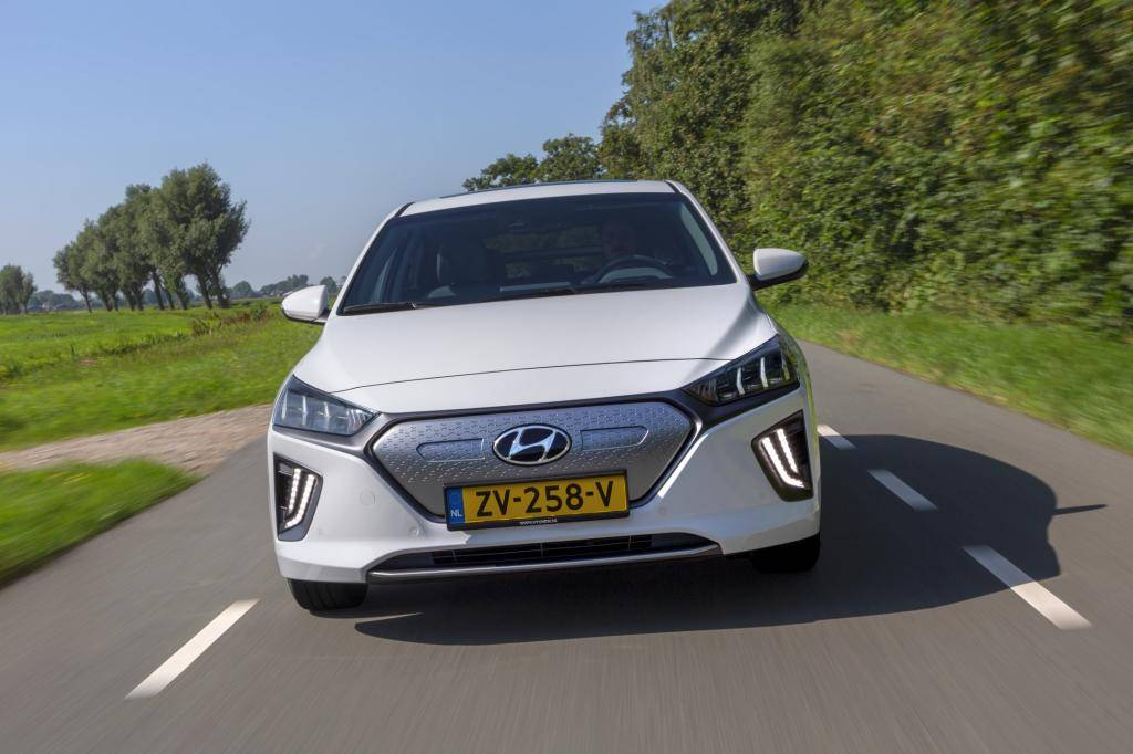 Wat is er opvallend aan de Hyundai Ioniq Electric?