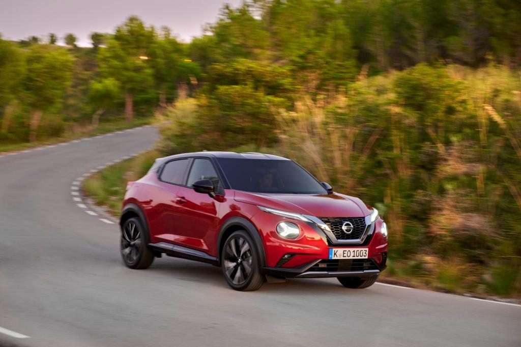 Wat is opvallend aan de Nissan Juke?