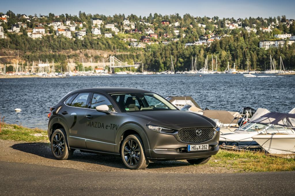 Wat is er minder goed aan de elektrische Mazda e-TPV?