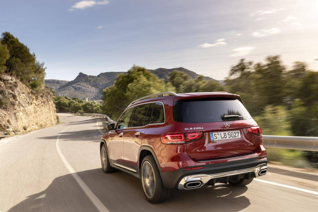 Wat is er opvallend aan de Mercedes-Benz GLB?