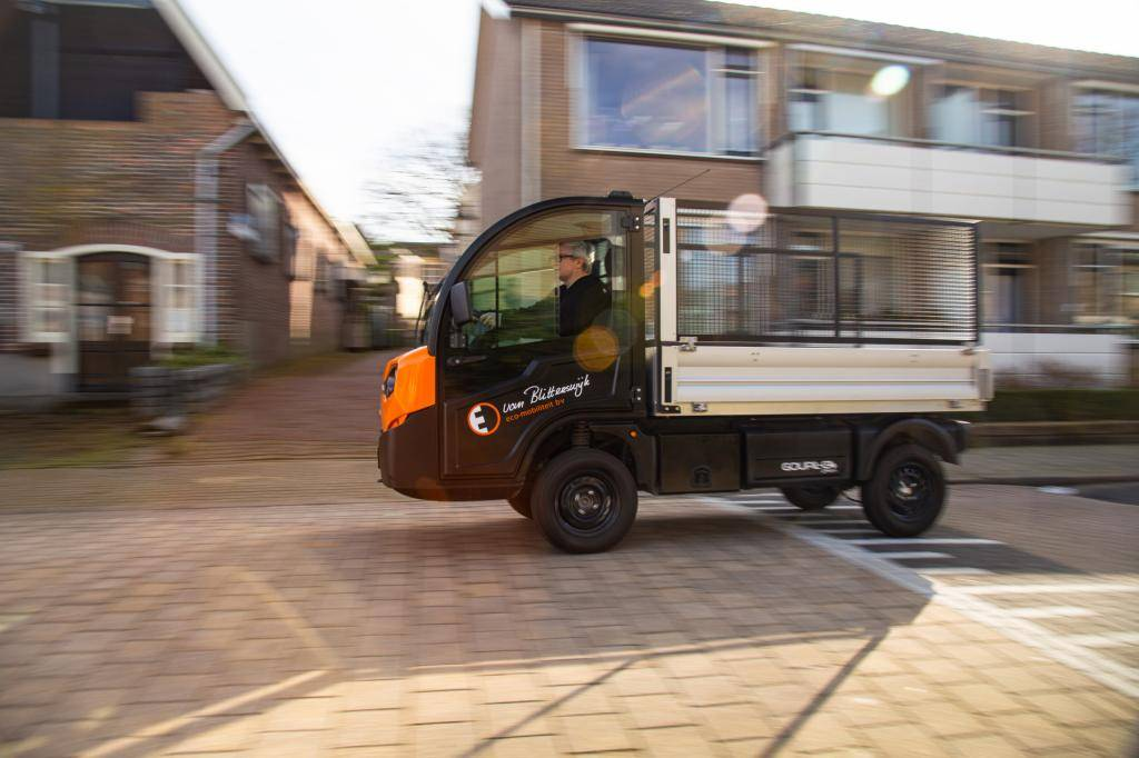 First review Goupil G4: how does the electric van from the Picnic supermarket run?