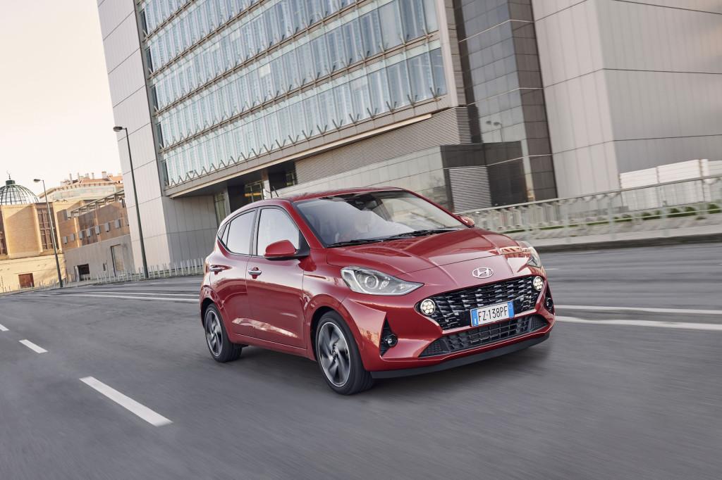 Wat is er opvallend aan de Hyundai i10?