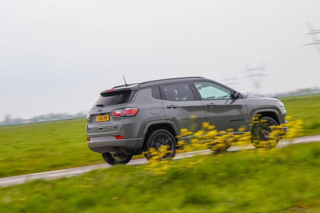 Eerste review: Jeep Compass 4Xe plug-in hybrid