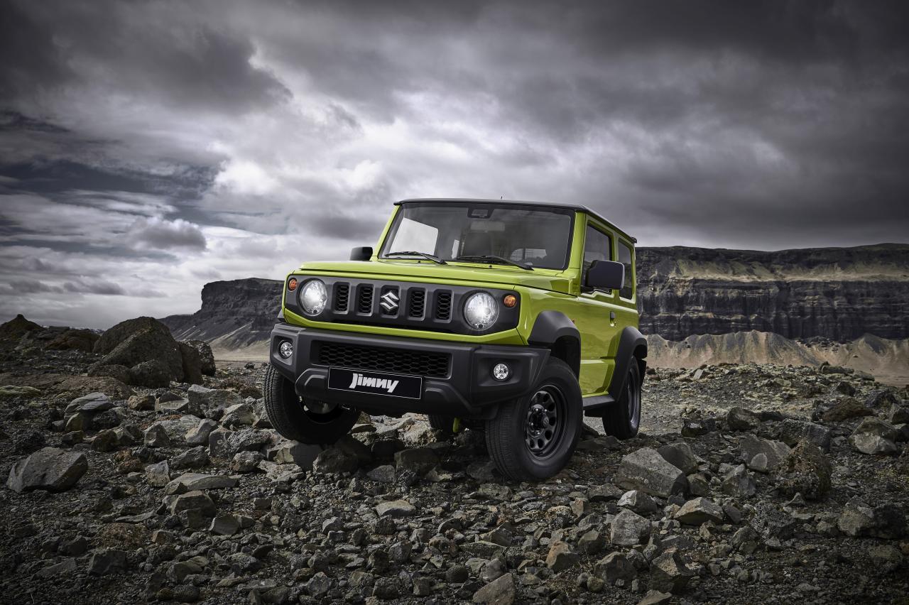 Suzuki Jimny is terug, maar alleen als 'bedrijfswagen'