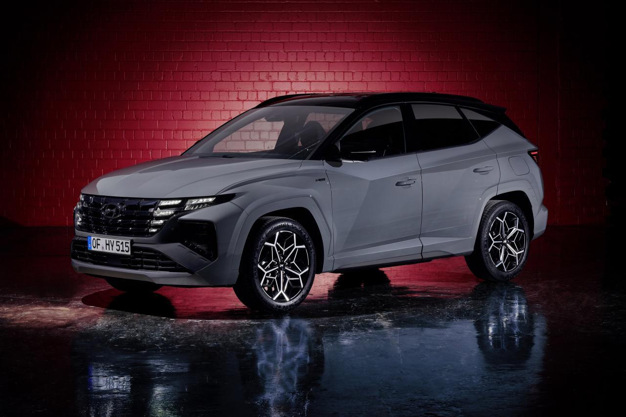 Hyundai Tucson N Line benadrukt de 'sport' in 'suv'