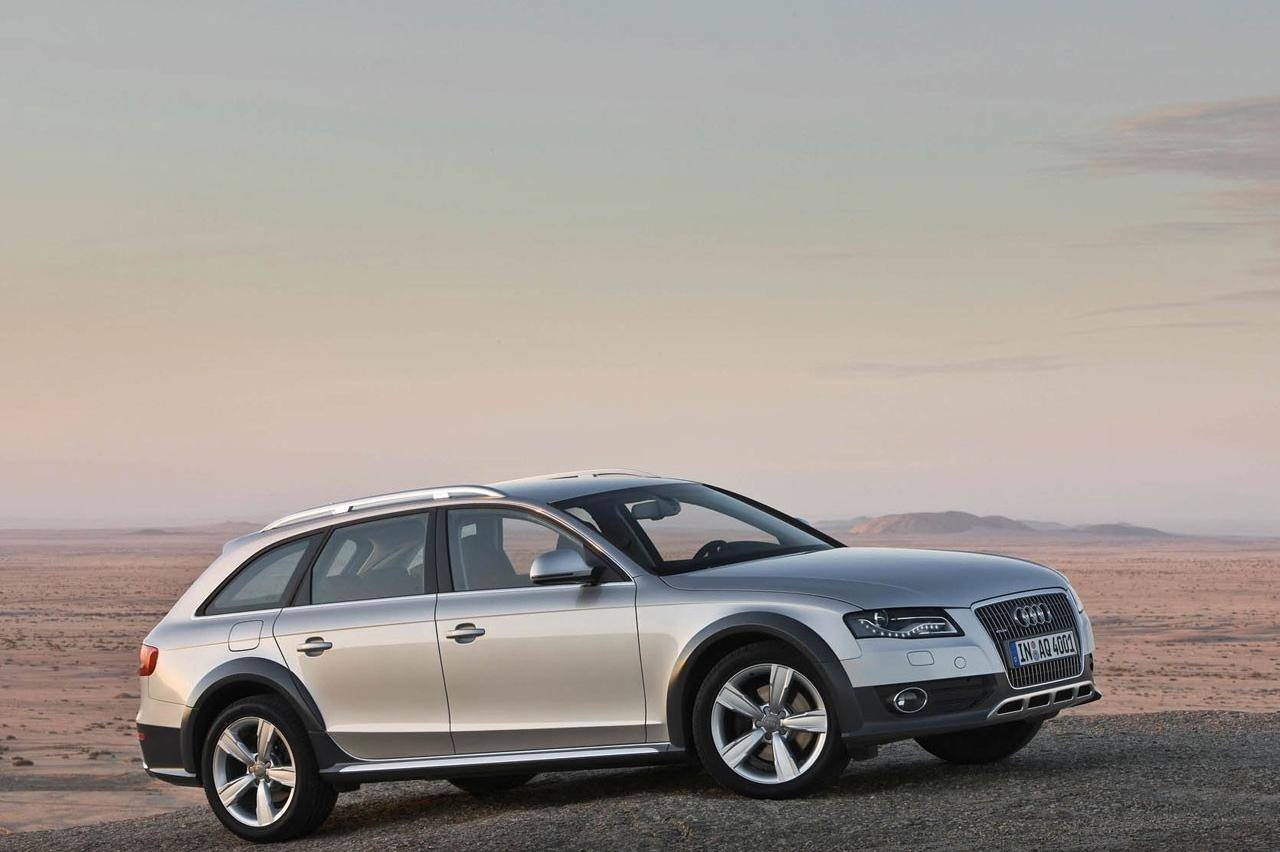 Audi A4 (Allroad) is in the business