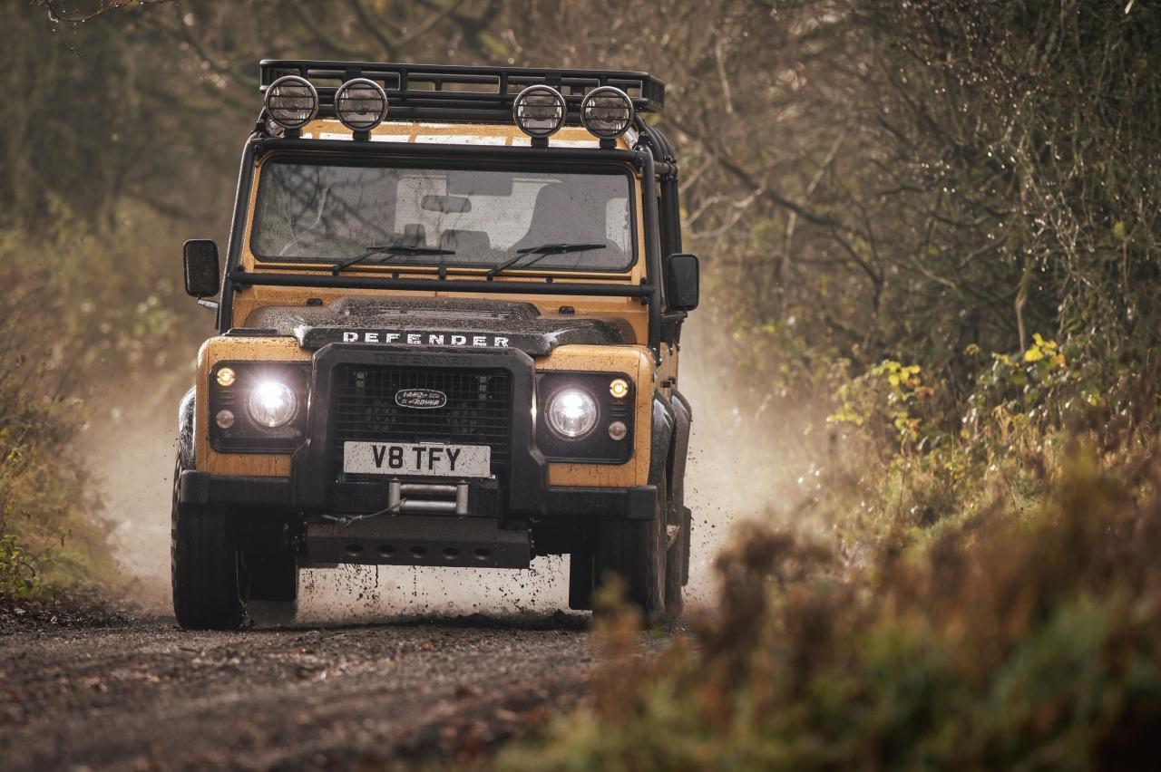 Oude Land Rover Defender kan geen afscheid nemen, gaat weer in productie