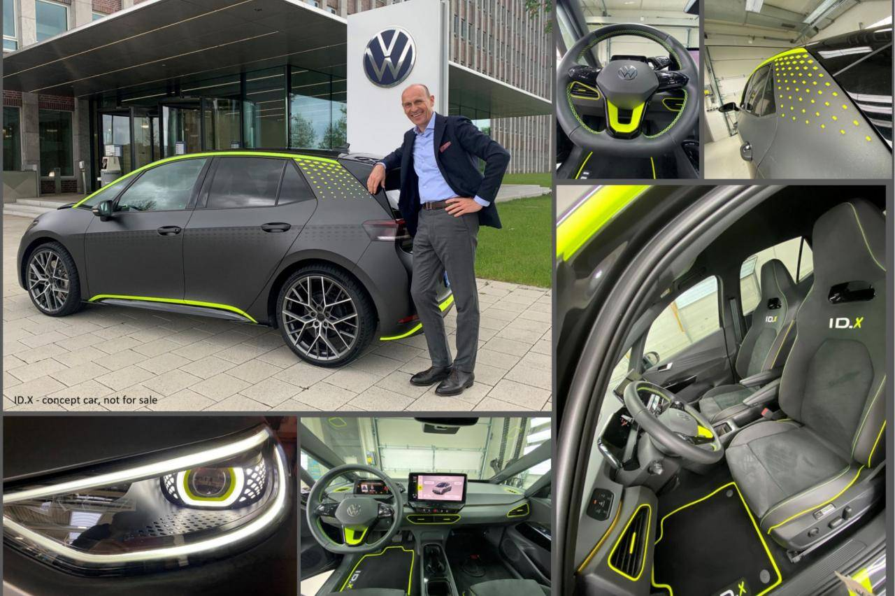 ID.X Concept - De Volkswagen ID.3 voor leaserijders die van opschieten houden