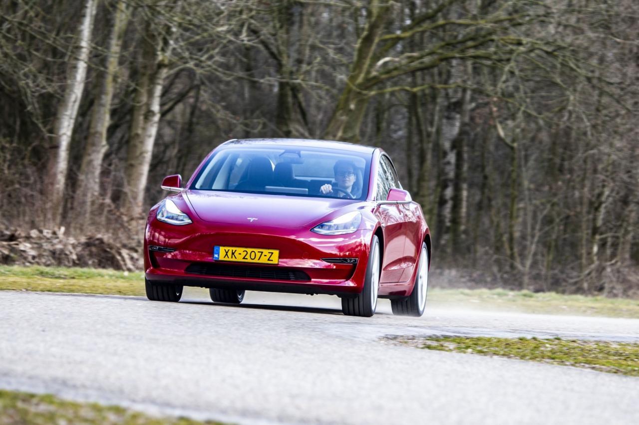 Zoveel capaciteit verliest de accu van de Tesla Model 3 na 60.000 kilometer