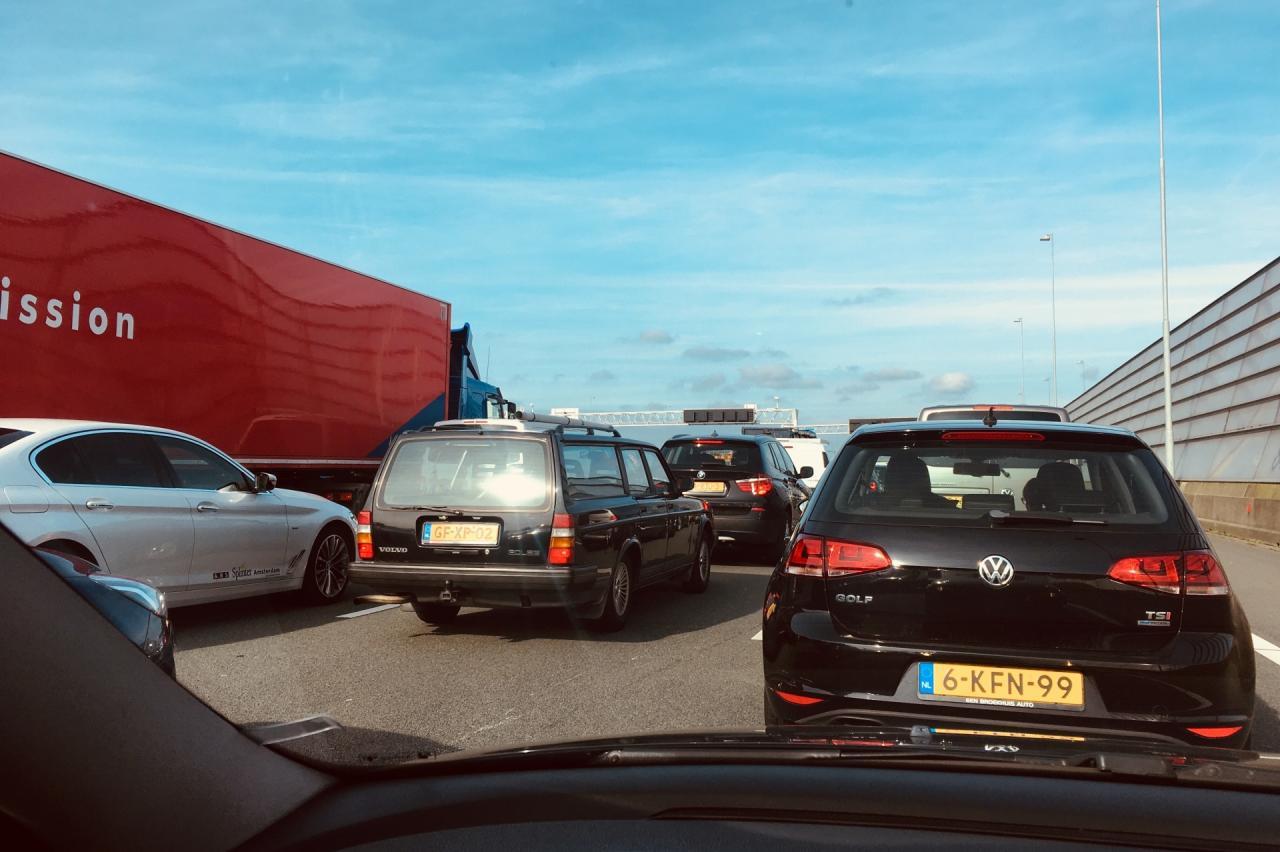 Nederlandse verkeersdrukte is alweer op pre-coronaniveau
