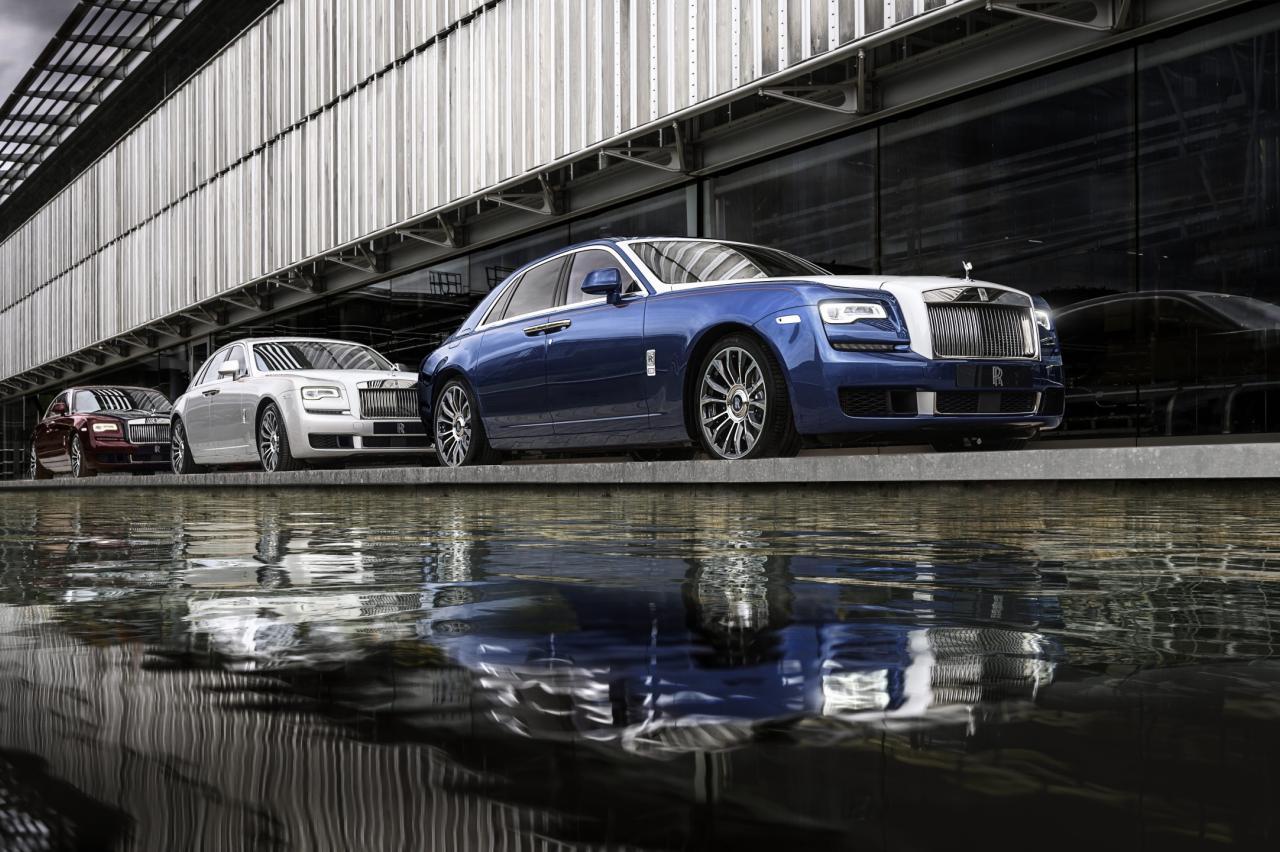 Fout parkeren met een Rolls-Royce Ghost