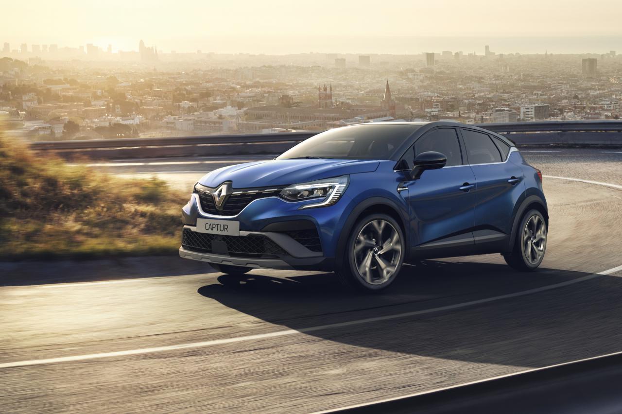 De Renault Captur R.S Line kleedt zich sportief