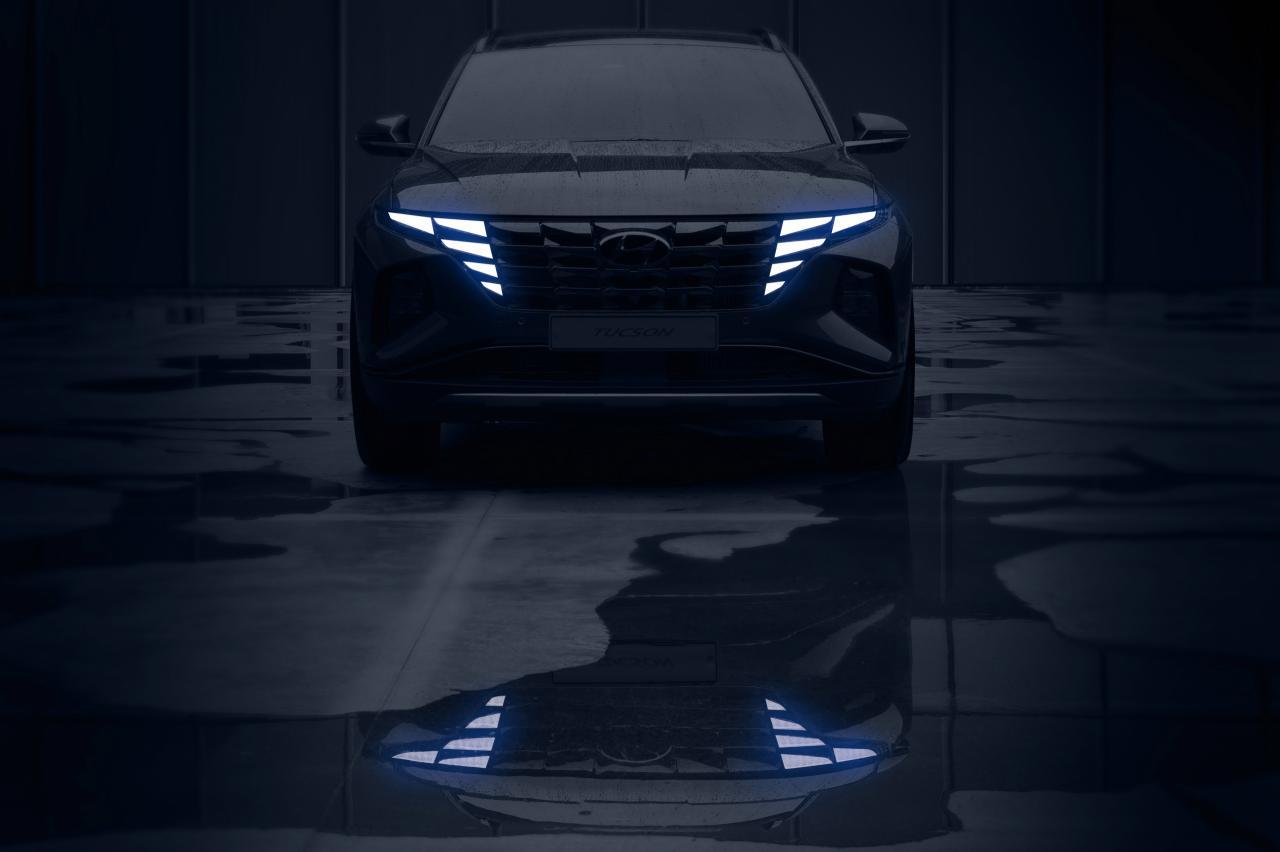 Nieuwe Hyundai Tuscon krijgt scifi-neus
