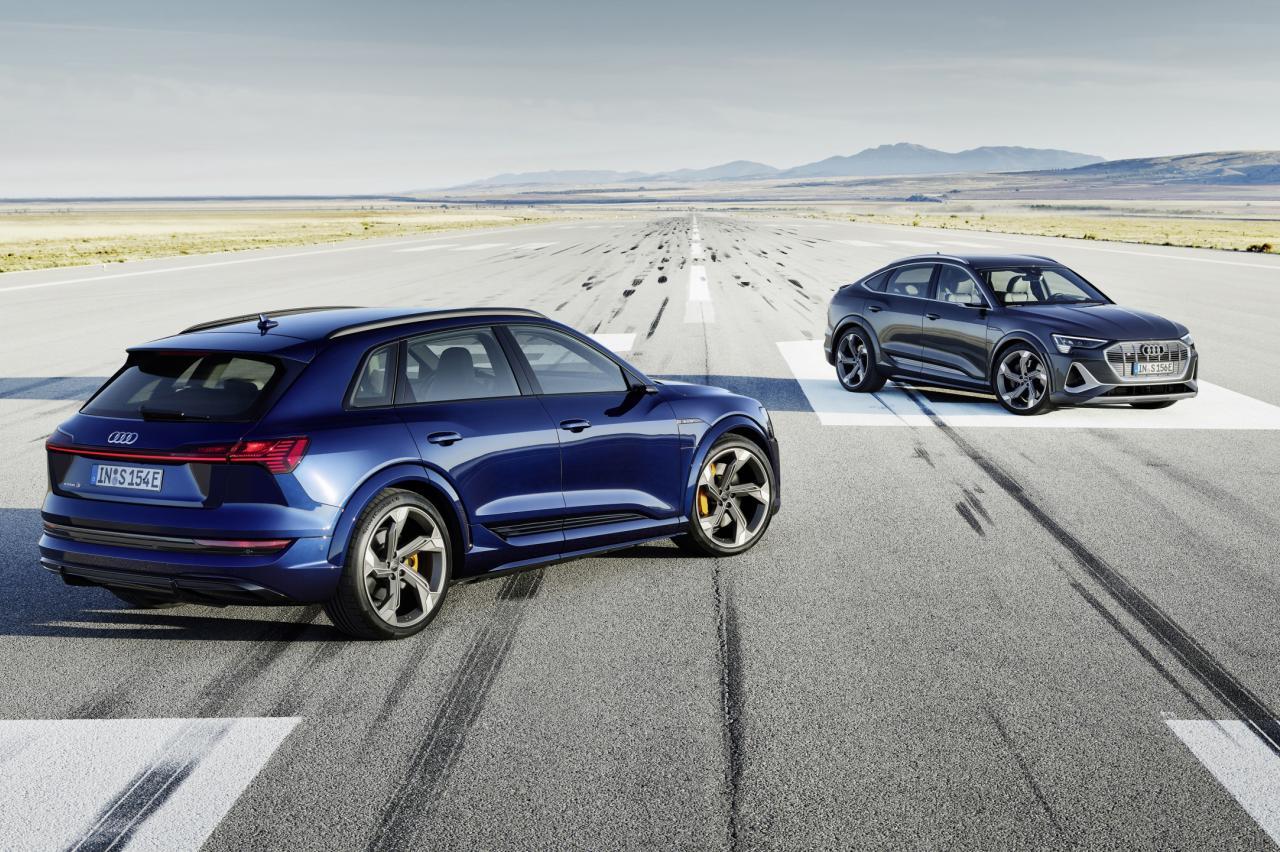 Belachelijk: nieuwe Audi E-Tron S heeft 3 elektromotoren, 503 pk en 973 Nm