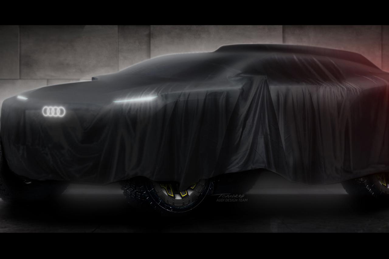 Laadpalen in de woestijn? Audi gaat Dakar rijden met elektrische rallywagen