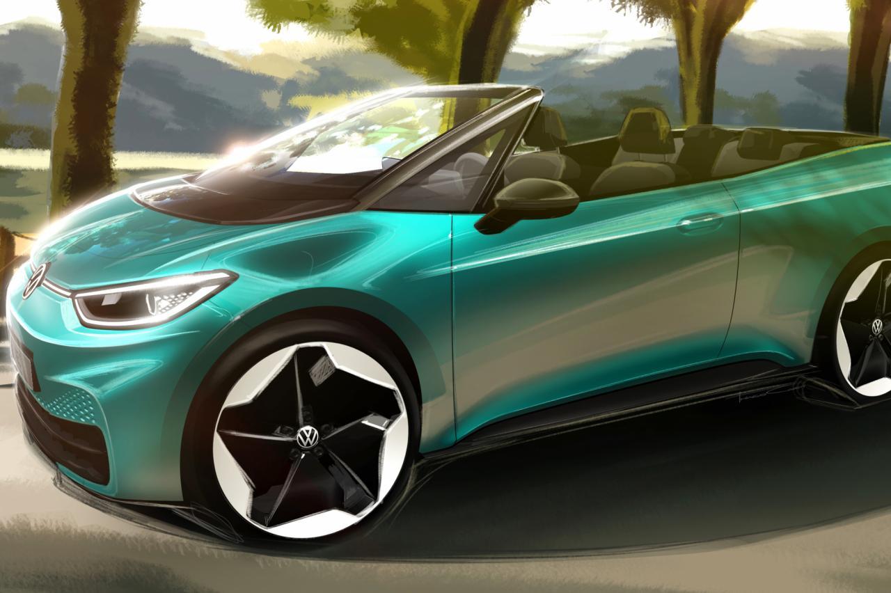 Vraagje van Volkswagen: zouden jullie een elektrische Volkswagen ID.3 Cabrio willen?