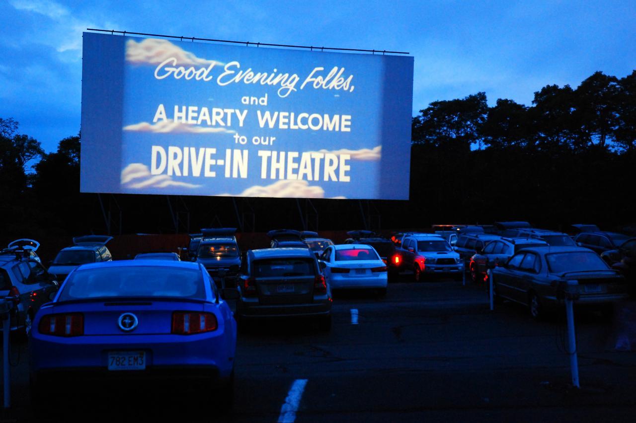 Komt de drive-in bioscoop terug?