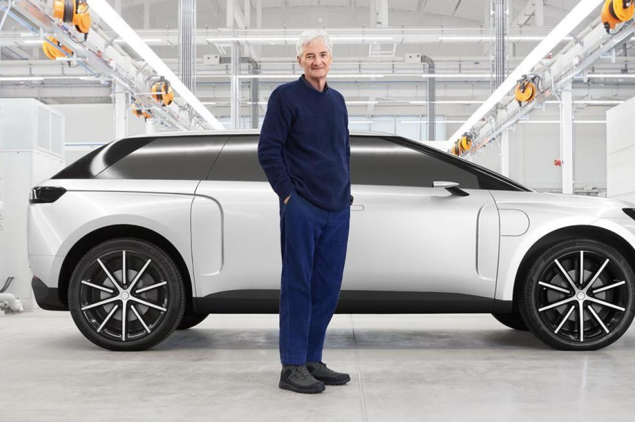 Dit had de elektrische auto van sofzuigerfabrikant Dyson moeten worden