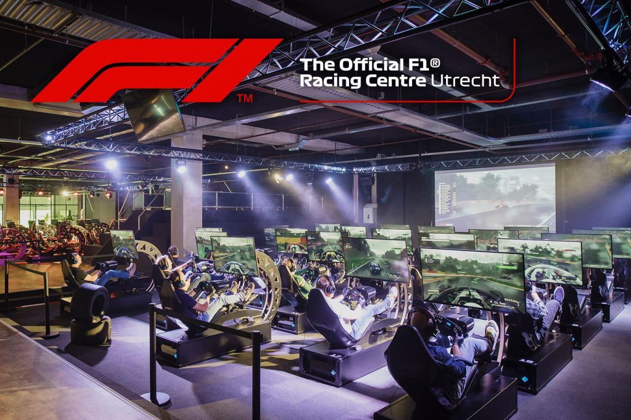 Win een VIP-arrangement bij The Official F1 Racing Centre in Utrecht