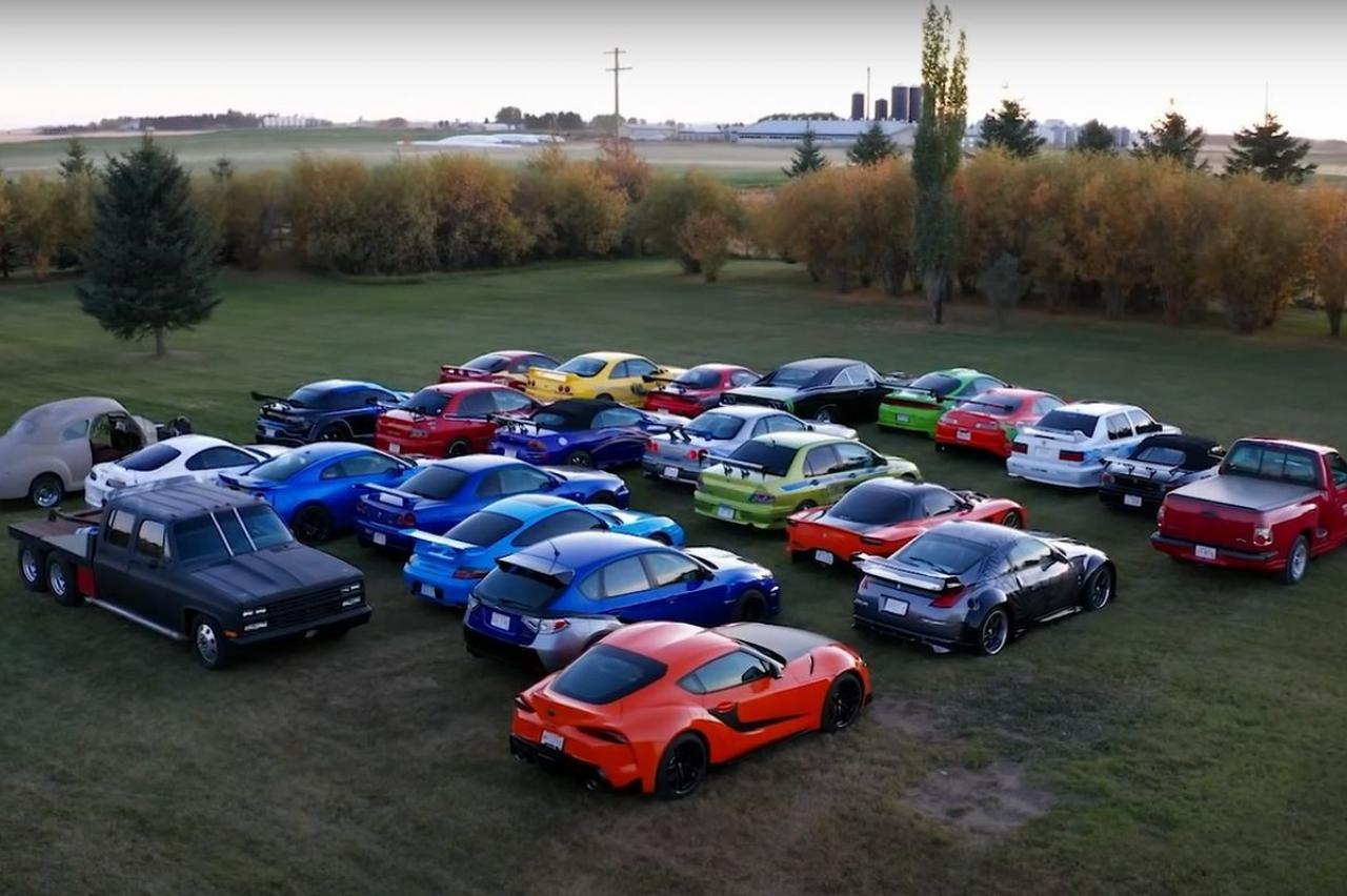 Fast & Furious-superfan bouwt tientallen filmreplica's