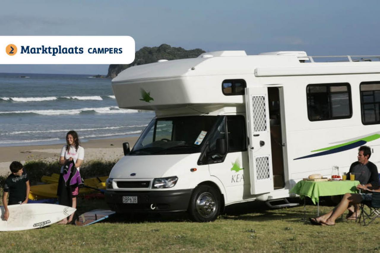 Marktplaats: corona-proof campers met sanitair
