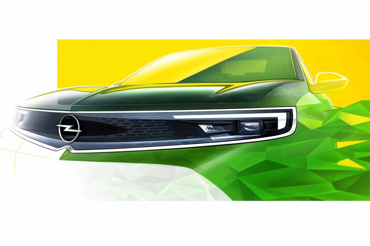 Nieuwe Opel Mokka krijgt 'klassieke' Manta-neus