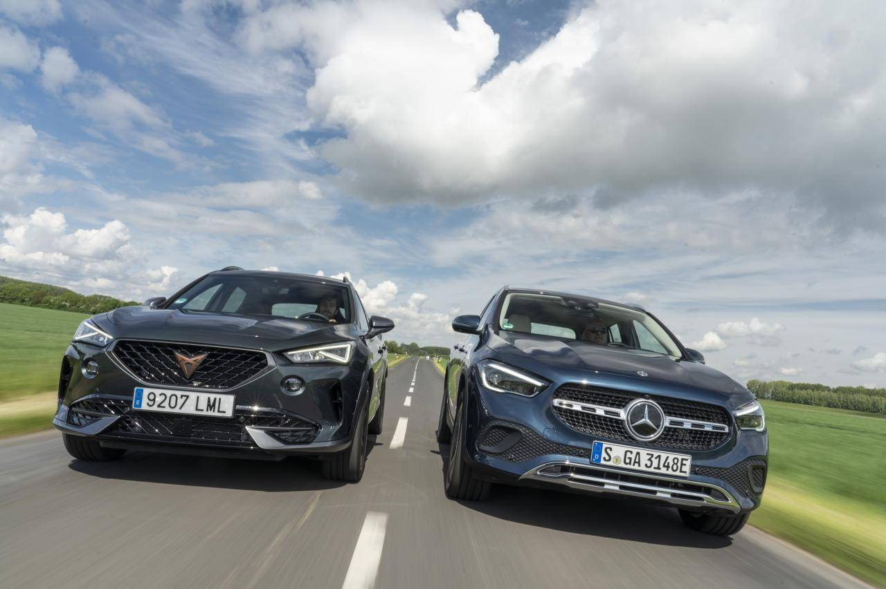 Test Cupra Formentor e-Hybrid en Mercedes GLA 250e: zo sportief rijden deze stekker-SUV's