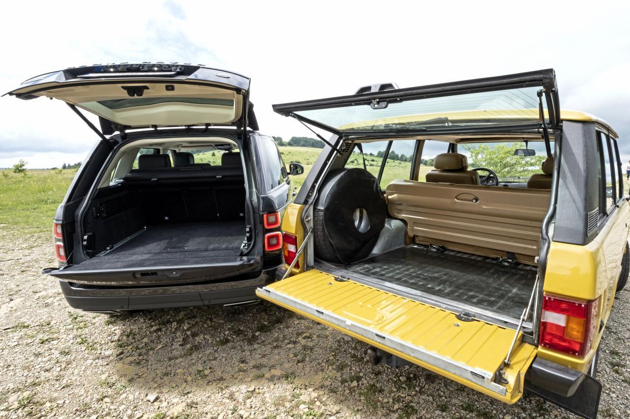 Luxestrijd: Oude Range Rover versus nieuwe Range Rover