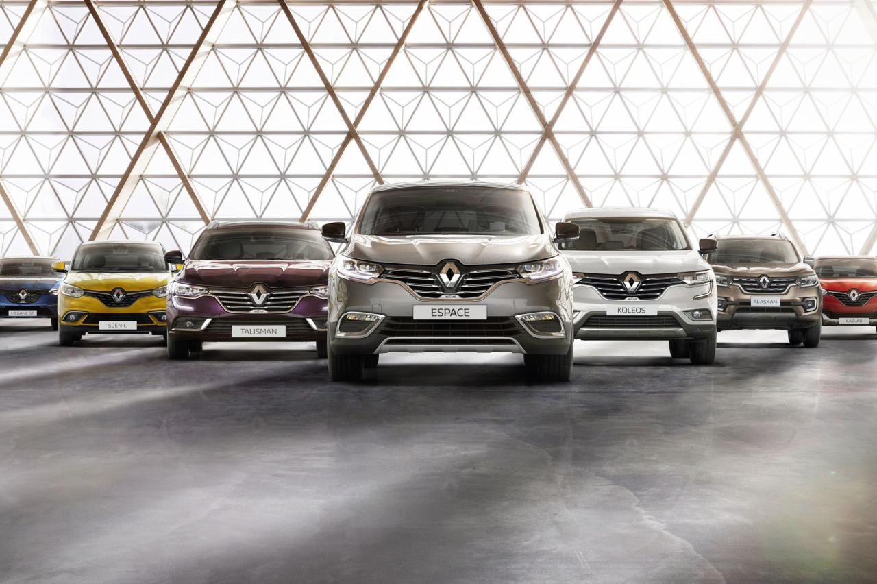 Renault gaat 20 procent van zijn modellen schrappen