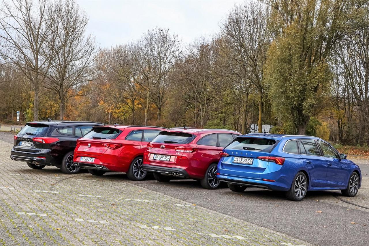 Compacte wagons getest: welke auto rijdt het lekkerste?