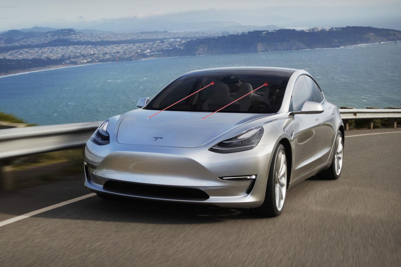 Tesla wil ruitenwissers schrappen en vervangen door laserstralen