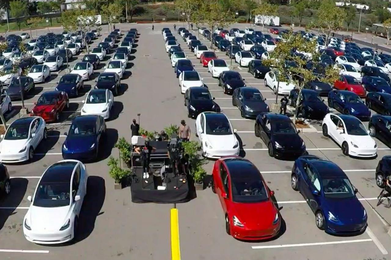Tesla levert recordaantal auto's af! Vrijwel allemaal Model 3's en Model Y's