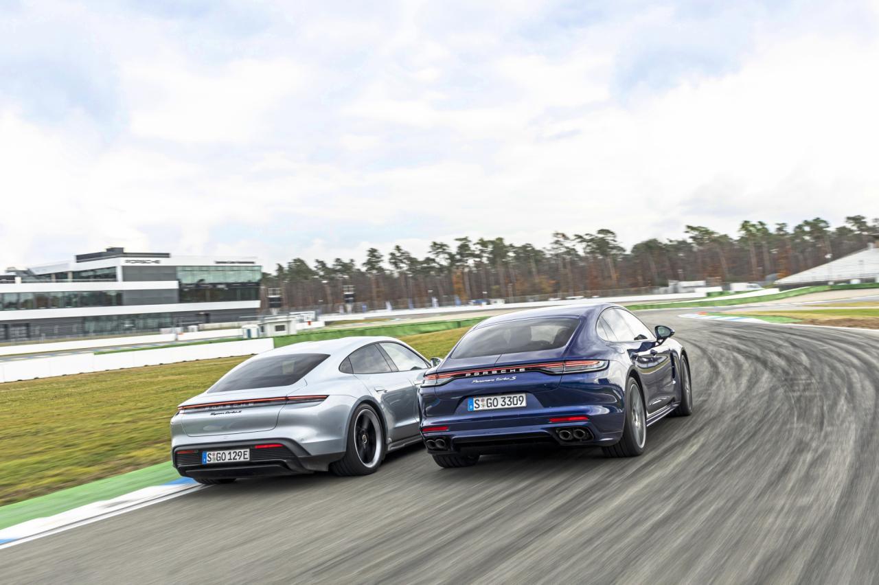 Test Porsche Taycan vs. Porsche Panamera: zoek de verschillen in het interieur