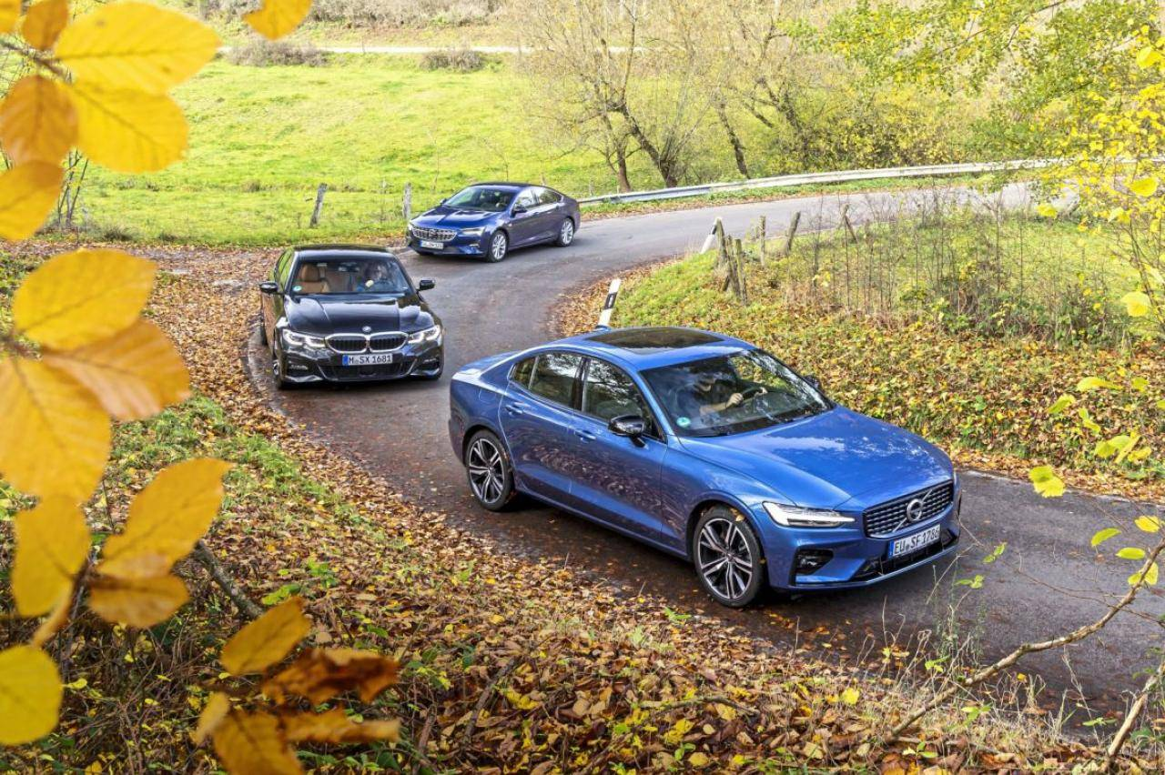 BMW 320i, Volvo S60 en Opel Insignia getest: waarom jij echt geen suv wilt