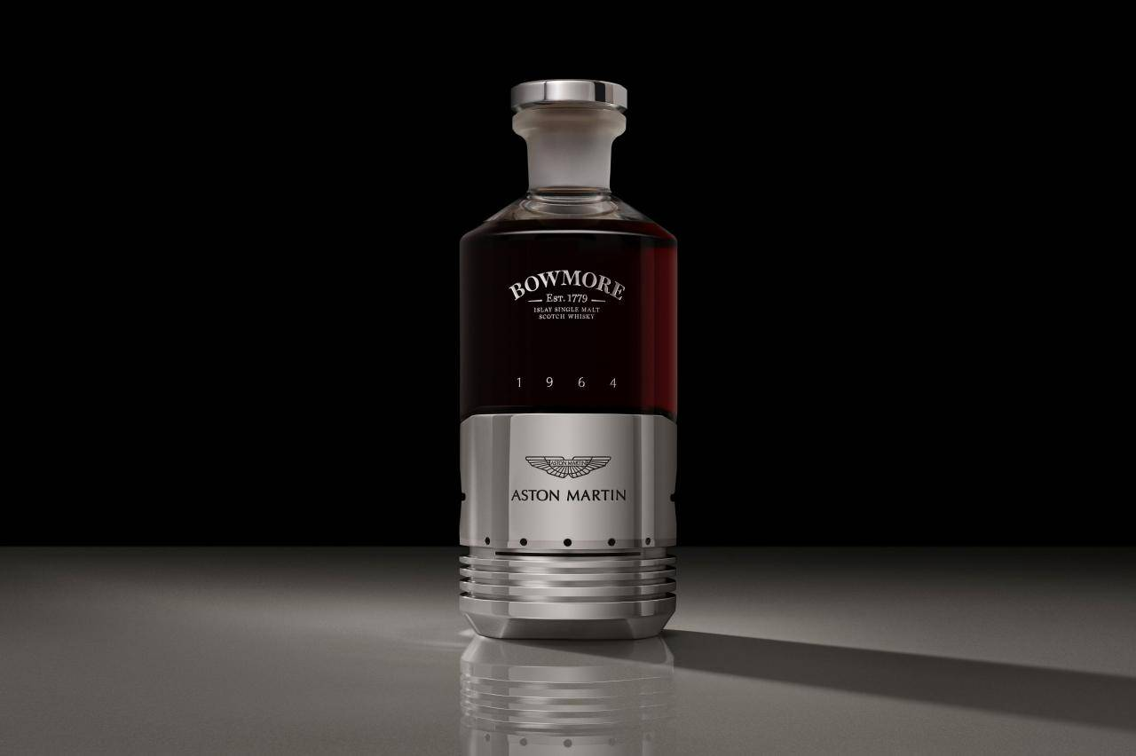 Deze Aston Martin-whisky kost ... 50.000 pond!