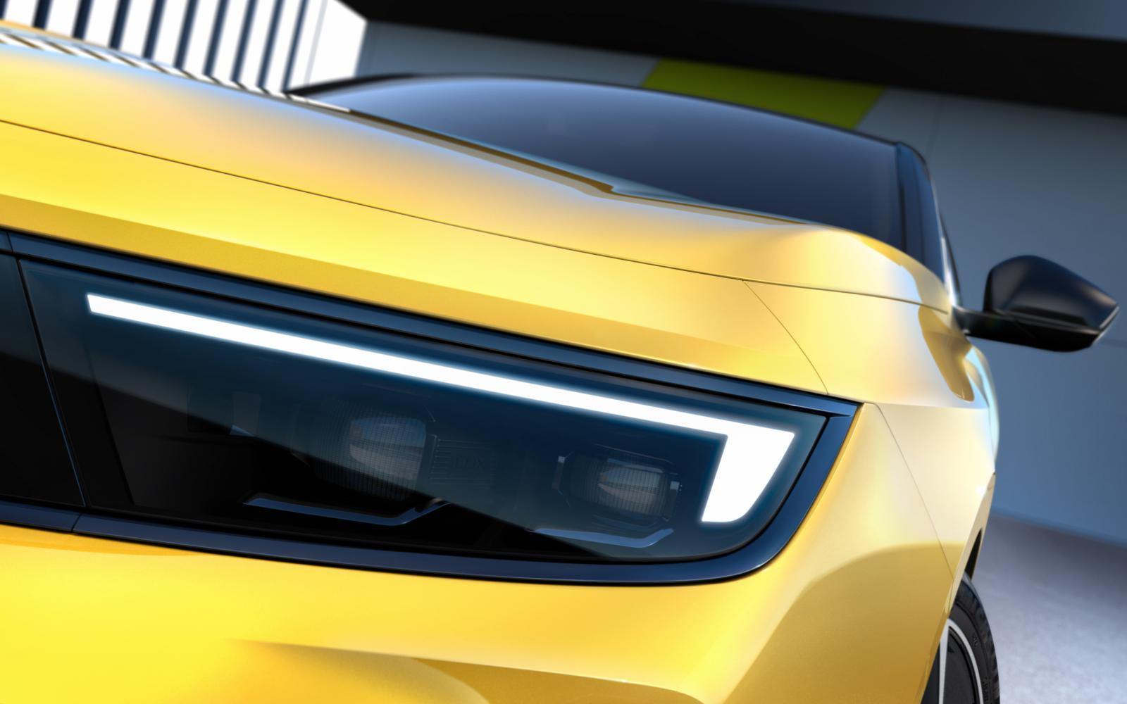Zo ziet de nieuwe Opel Astra eruit