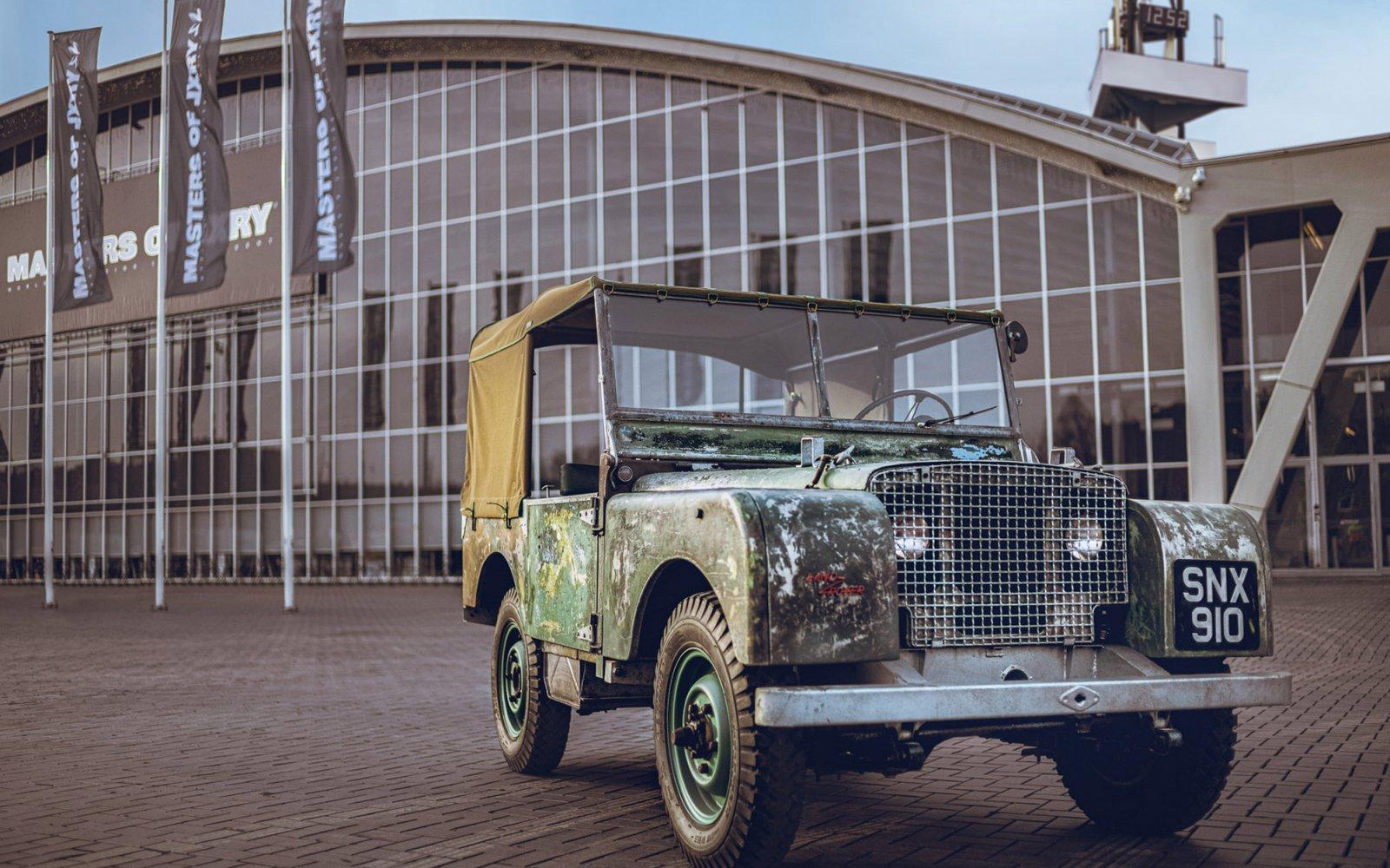 Oermodel Land Rover keert teriug naar Amsterdamse roots