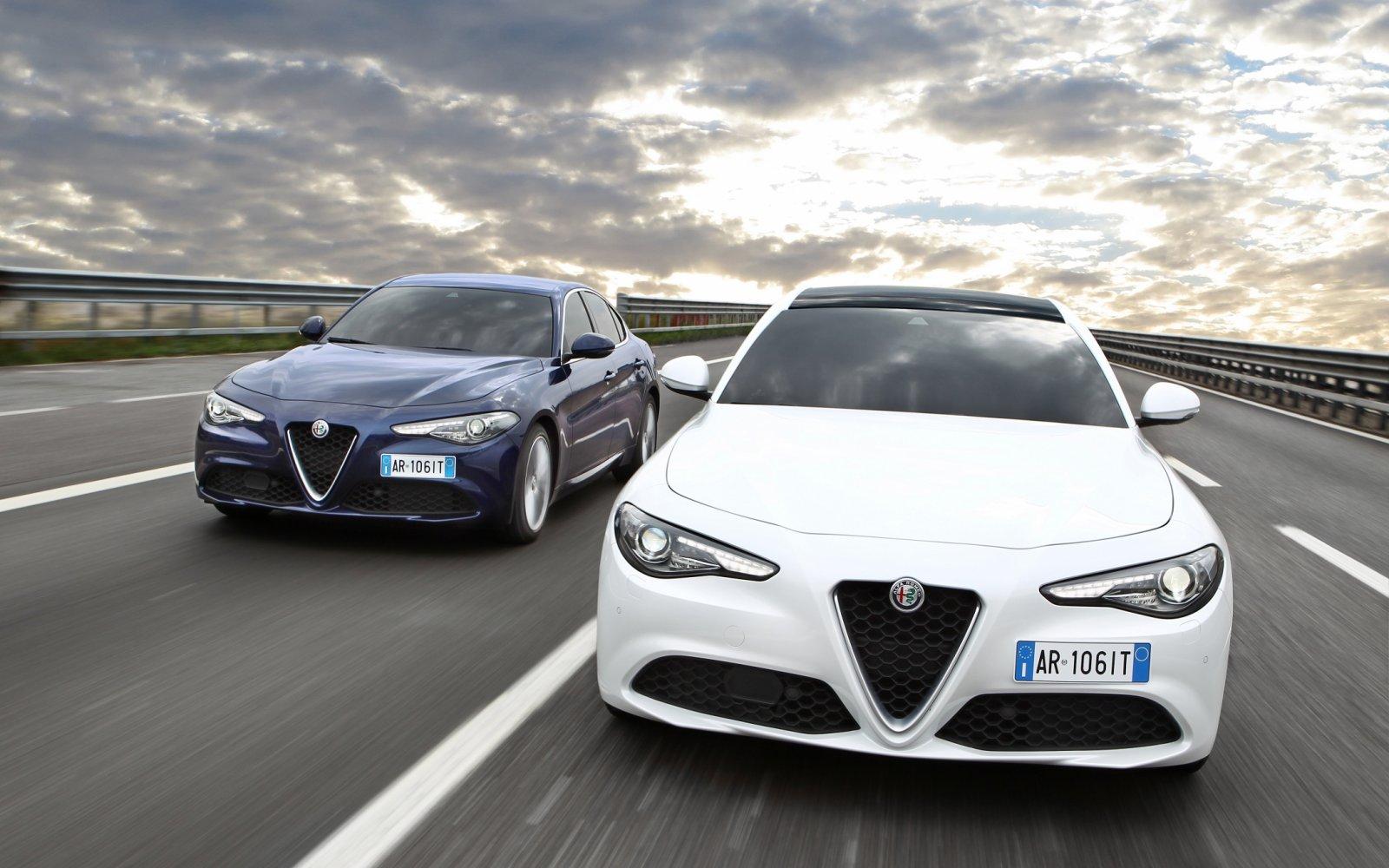 Plaatjes kijken: nieuwe en oude Alfa Romeo Giulia