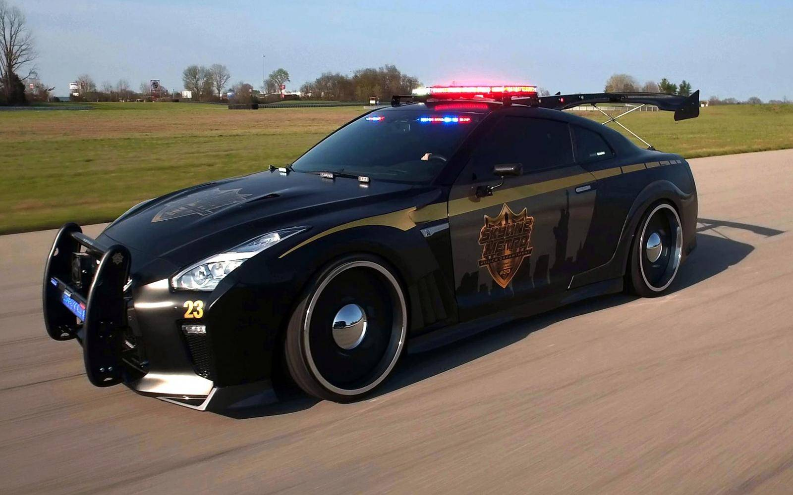 Nissan Copzilla: 'Anything you say can be held against you'