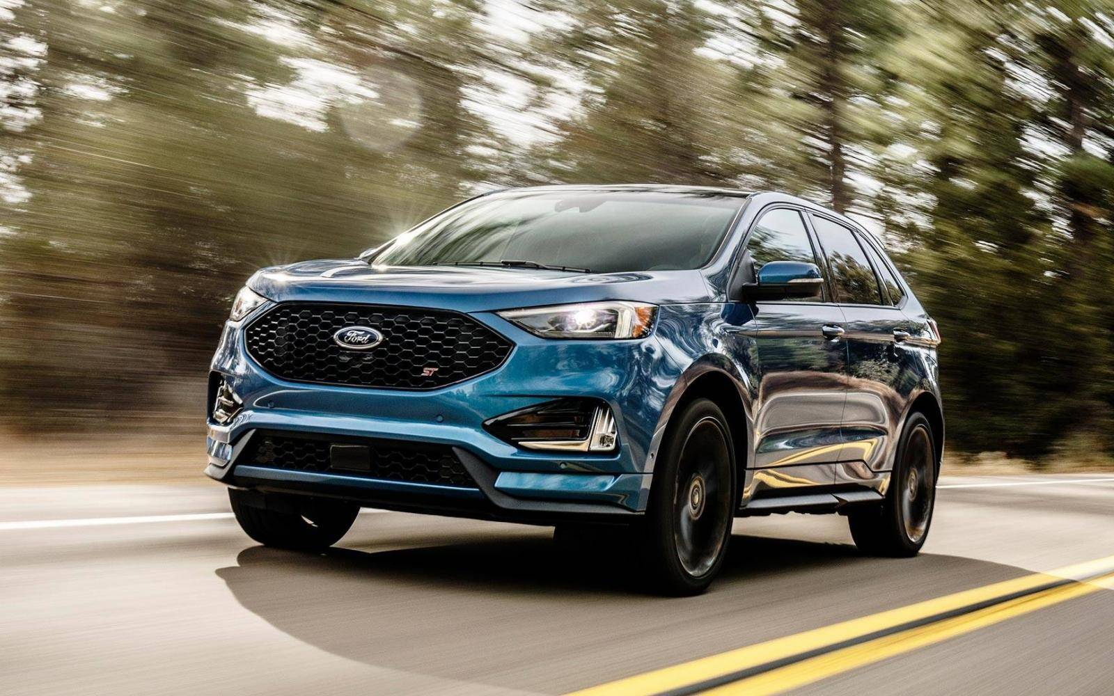 Gefacelifte Ford Edge ook als snelle ST