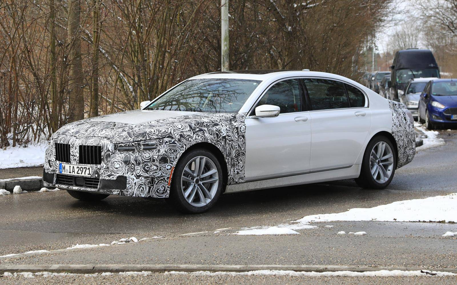 'Mid-cycle facelift' voor BMW 7-serie in aantocht