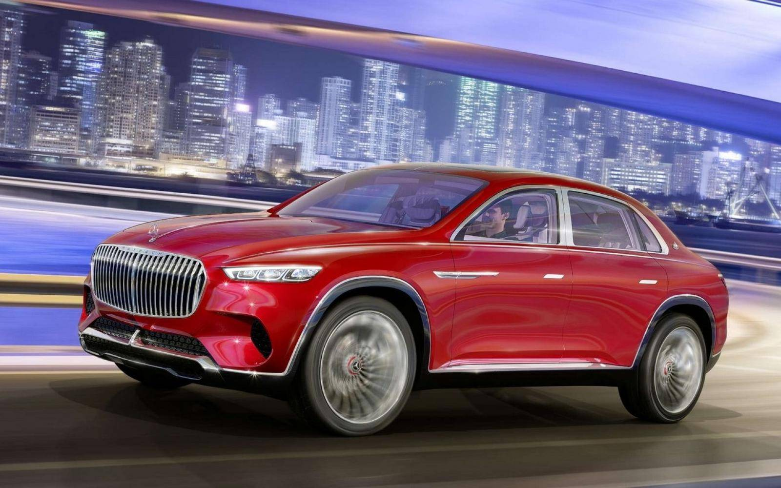 Mercedes-Maybach Ultimate Luxury Concept lekt uit